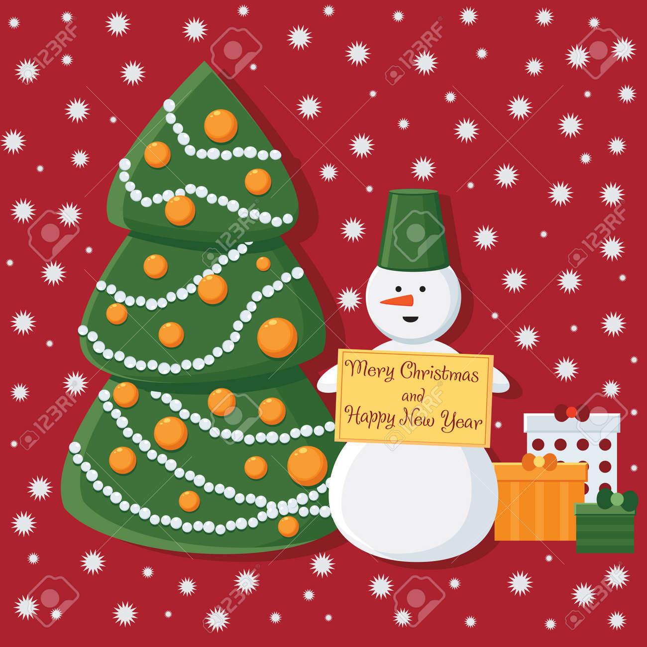 Biglietto Di Auguri Per Natale E Capodanno