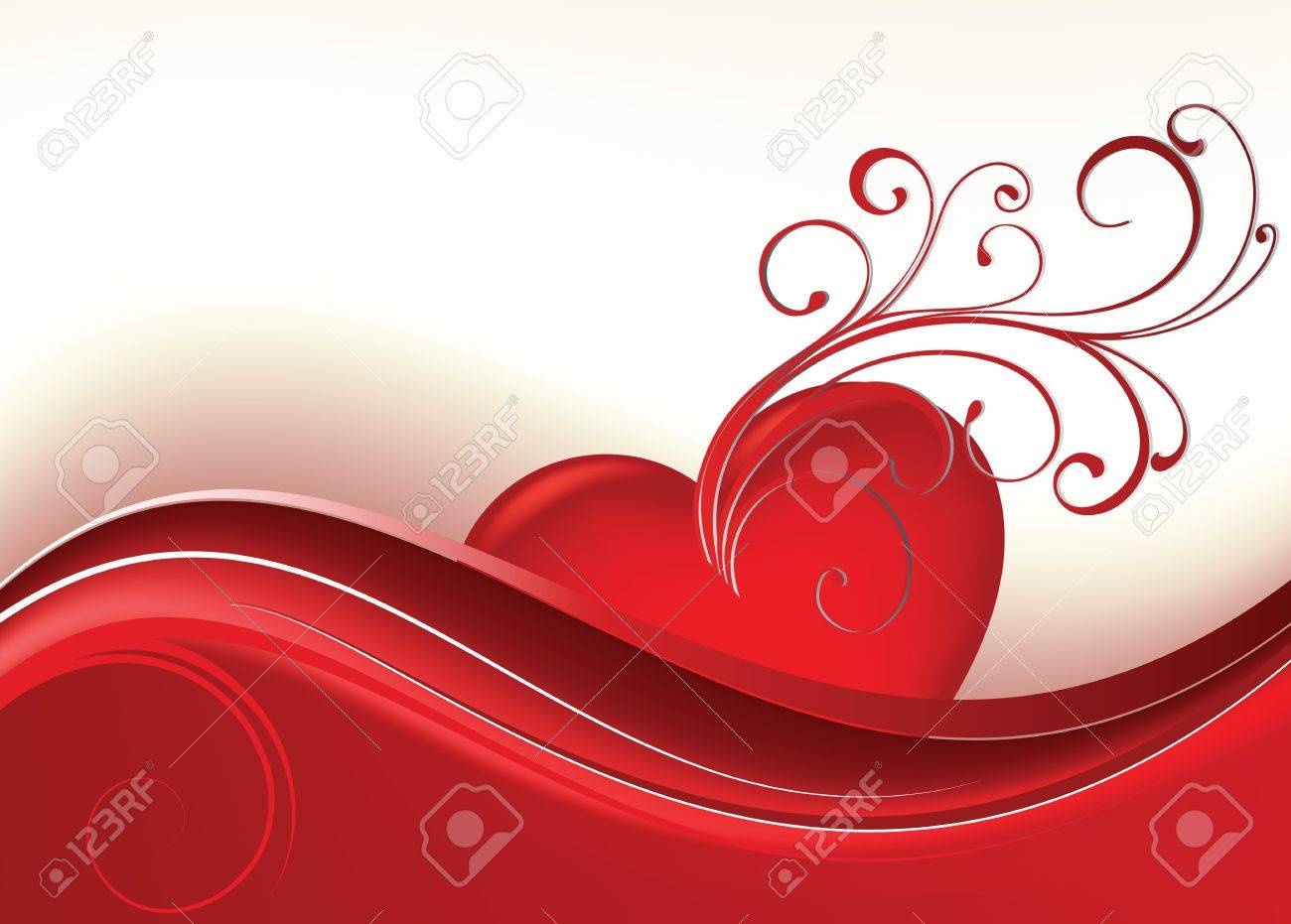Card to St. Valentine. Valentine's Day Stock Vector - 17272405