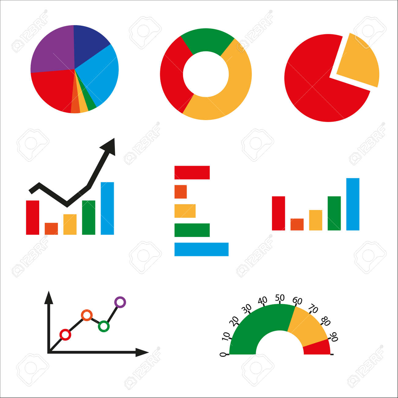 Different kinds of business charts bar chart pie chart line different kinds of business charts bar chart pie chart line chart bench nvjuhfo Images