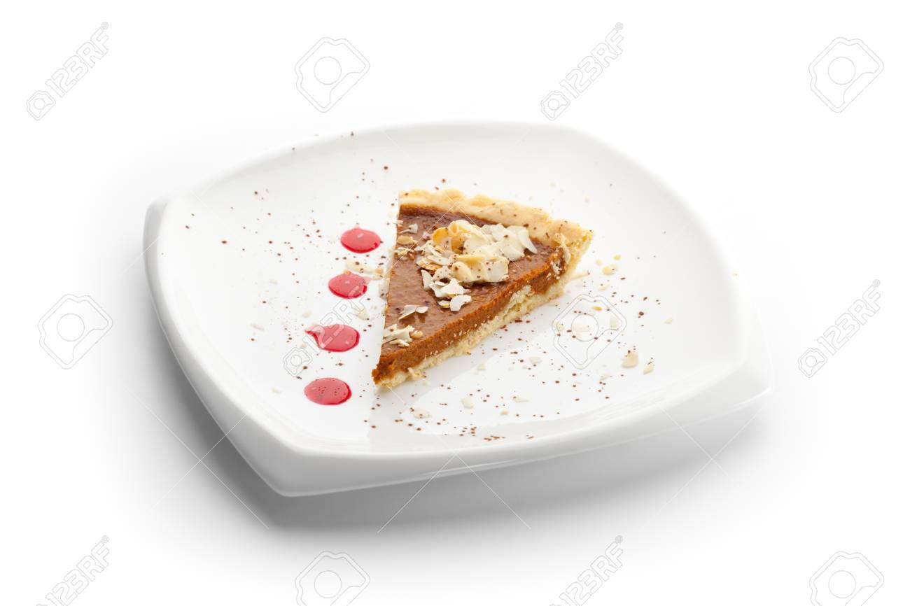 Fresh Pumpkin Pie Stock Photo - 11417622