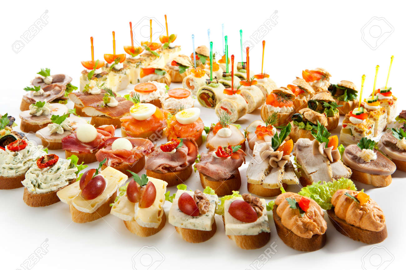 Canapes Stock Photo Picture And Royalty Free Image Image - Canapes