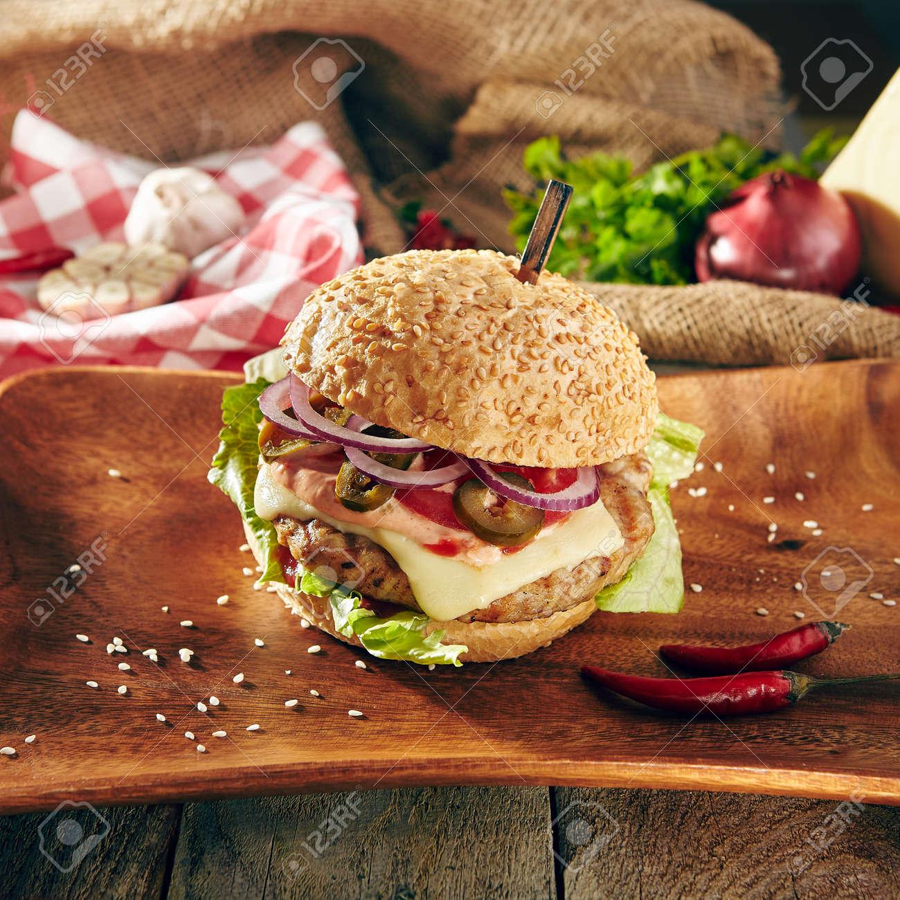 Burger Grill Restaurant Menu
