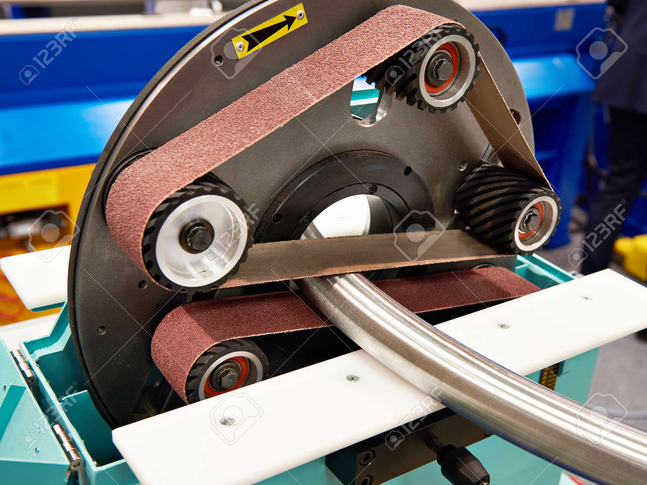 Pipe grinding machine with sandpaper - 82090222