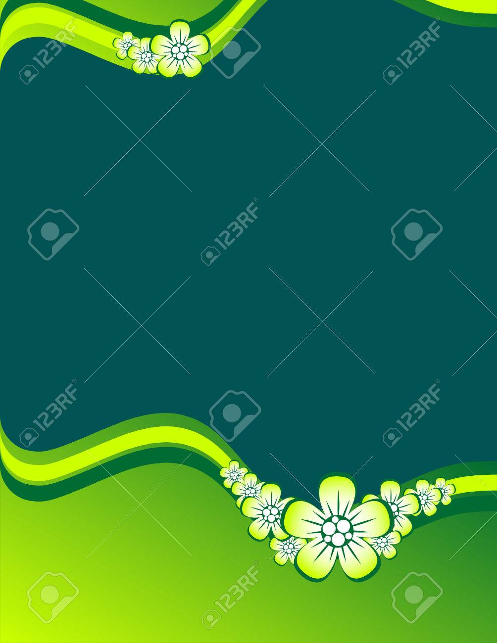 Floral background Stock Vector - 5755778