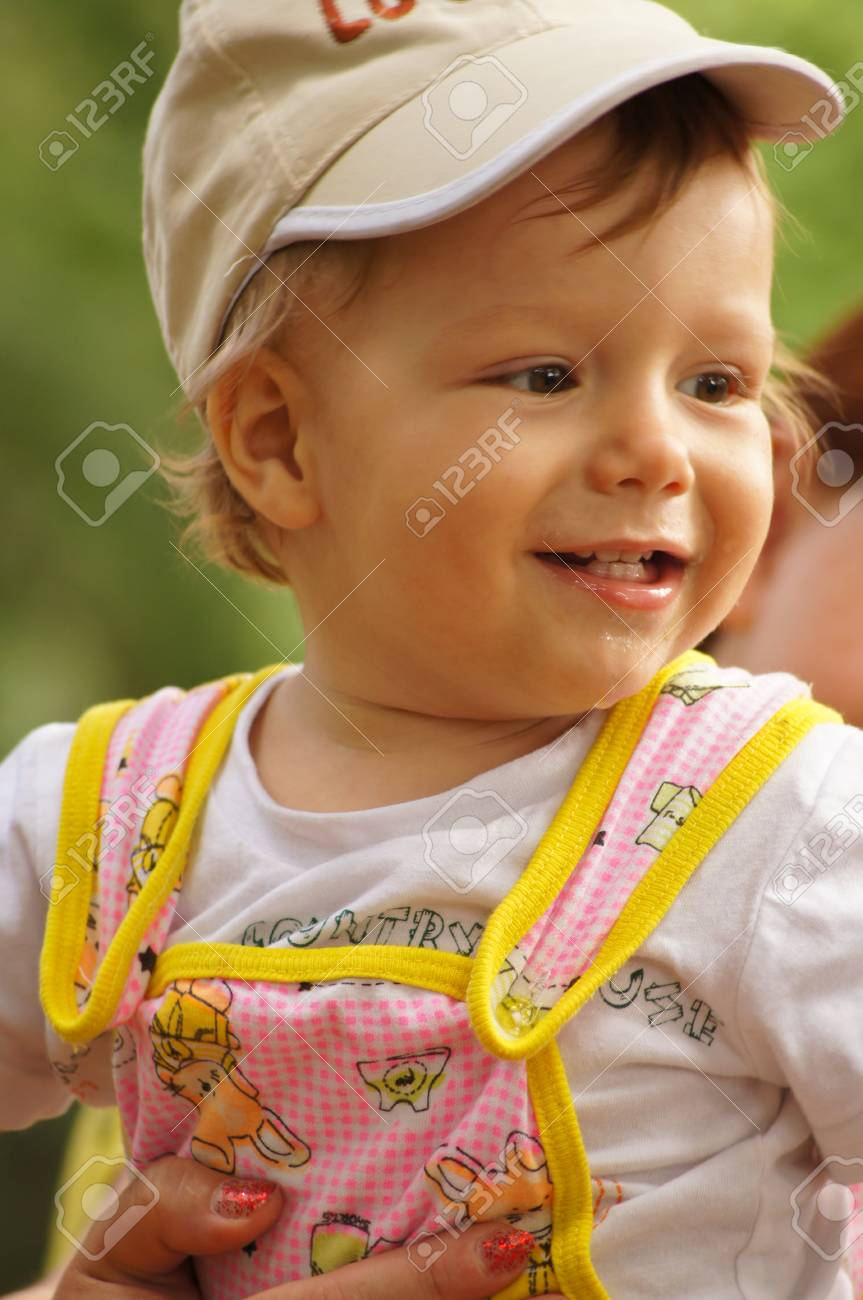 The amusing little boy Stock Photo - 14657867
