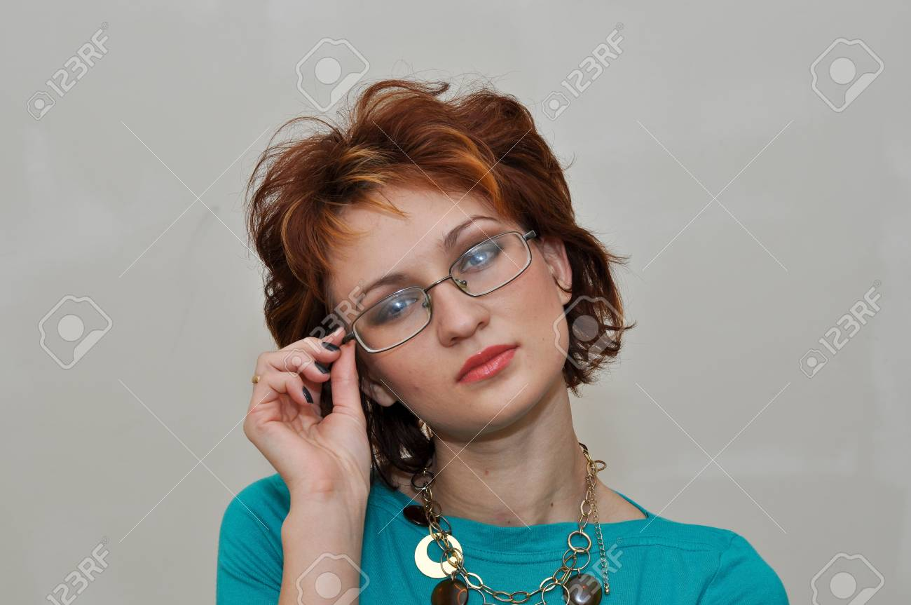 Portrait of a charming and lovely girl Stock Photo - 24139593