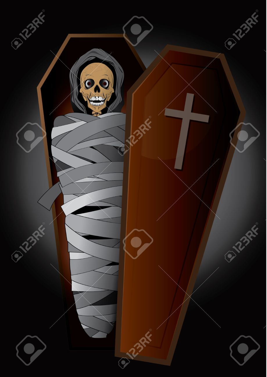 Vector Illustration Graphic Cartoon Ghost Hallo Ween Horror ...