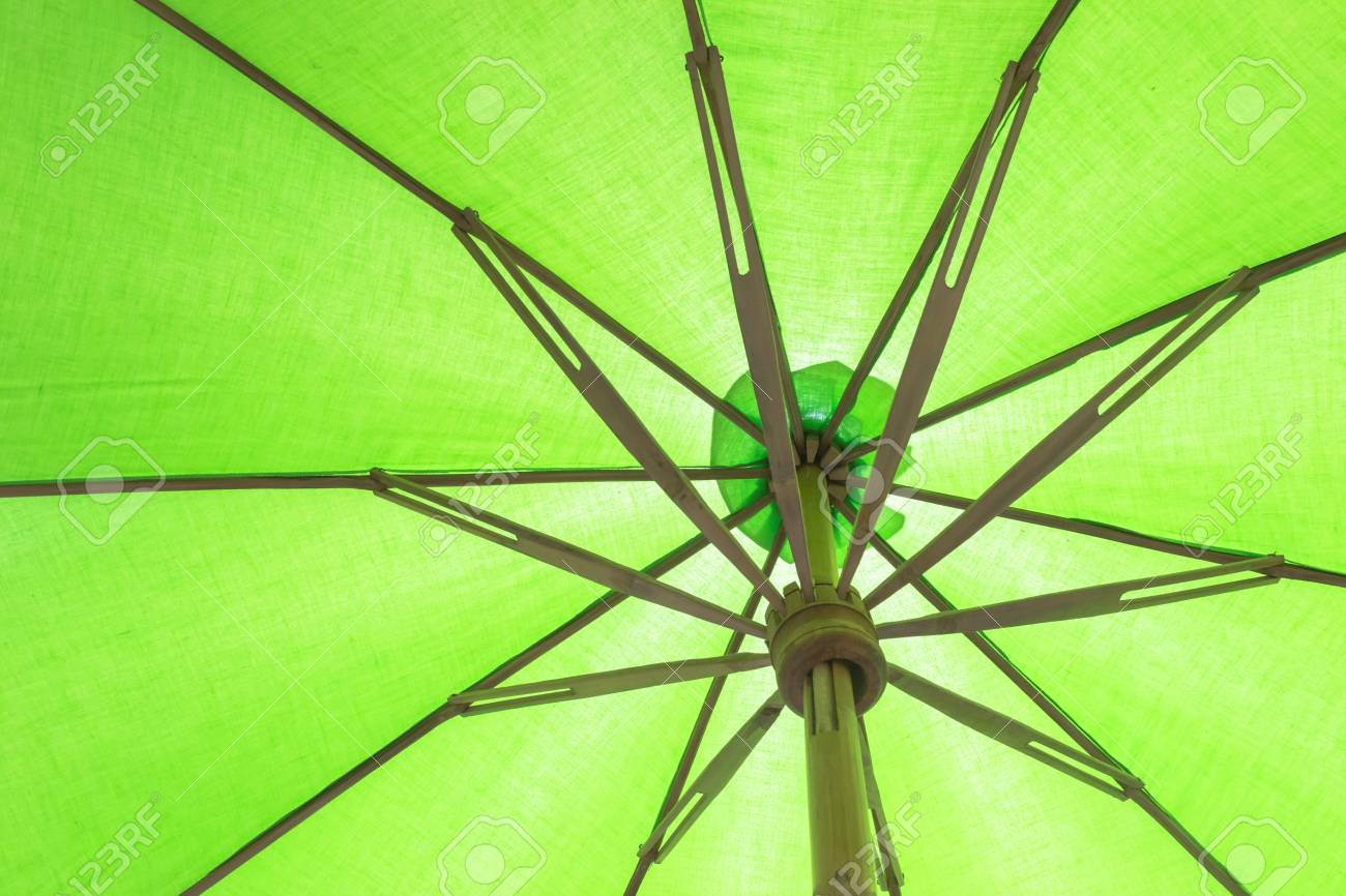 Colorful Umbrella Of Thailand Culture Stock Photo, Picture And ...
