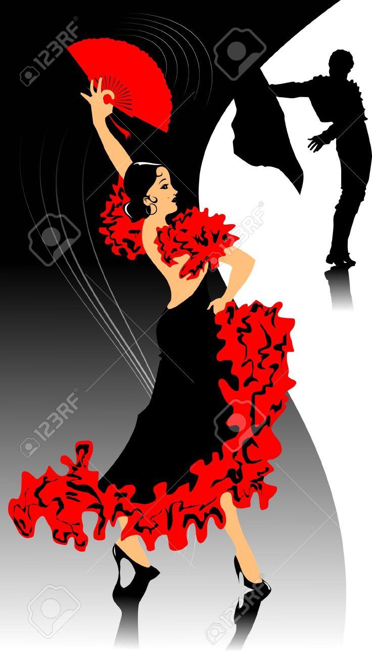 http://previews.123rf.com/images/sababa66/sababa661202/sababa66120200014/12341569-ballerina-di-flamenco-in-abito-nero-ballare-illustrazione--Archivio-Fotografico.jpg