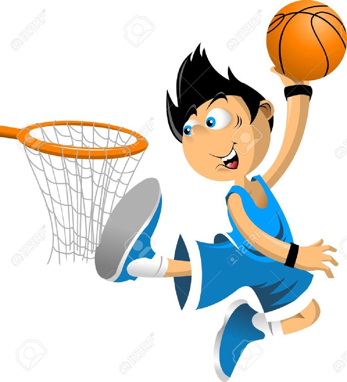 Image result for kids clip art basketball boy