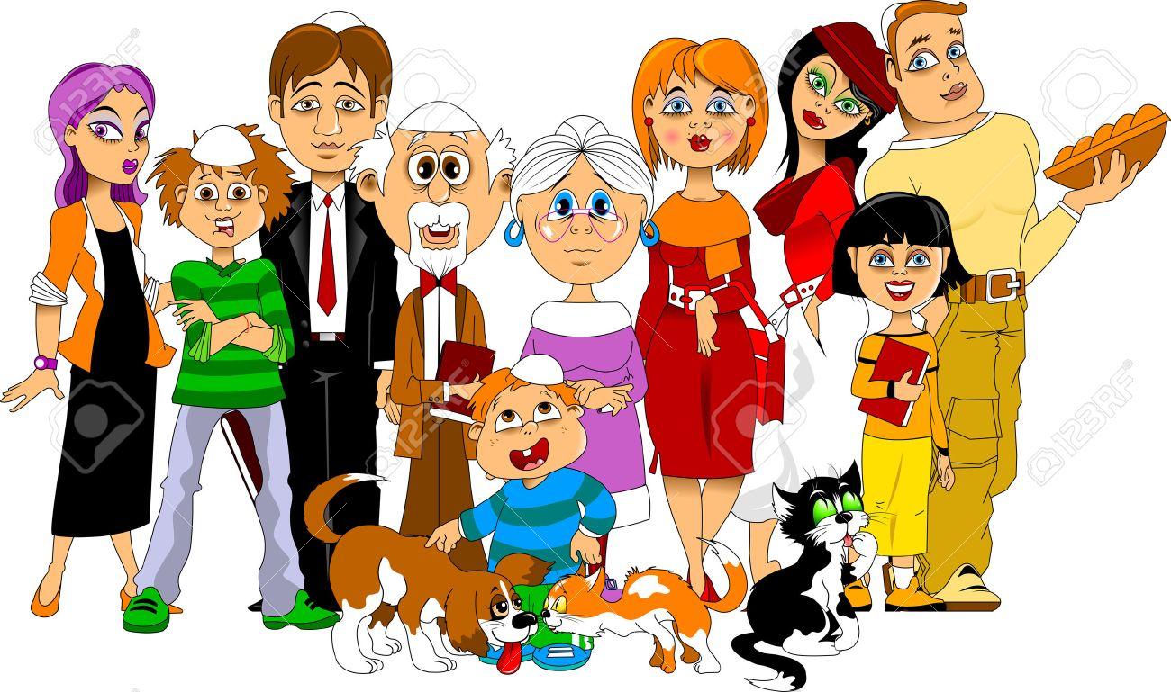 Familia pertaining to la familia feliz grande se reunieron para conocer el día de reposo