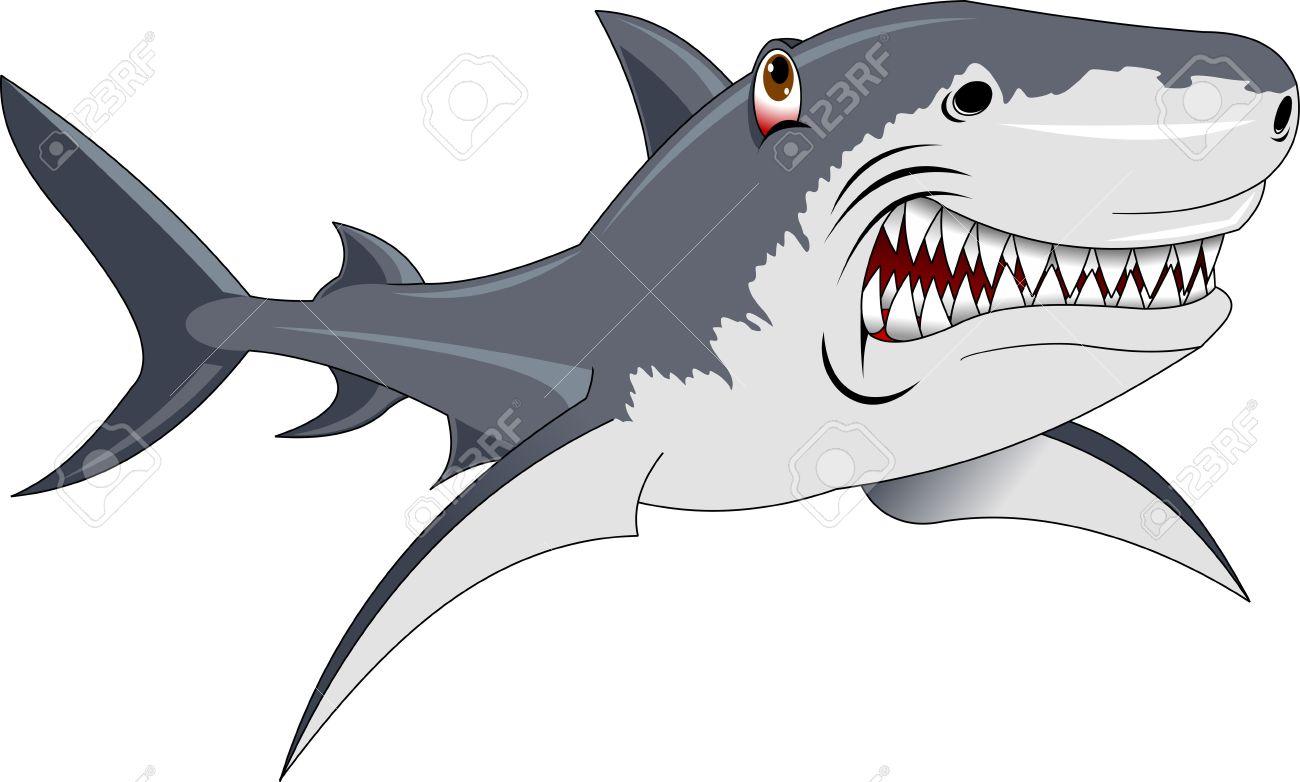 Lujoso Grandes Páginas De Colorear De Tiburón Blanco Para Imprimir ...
