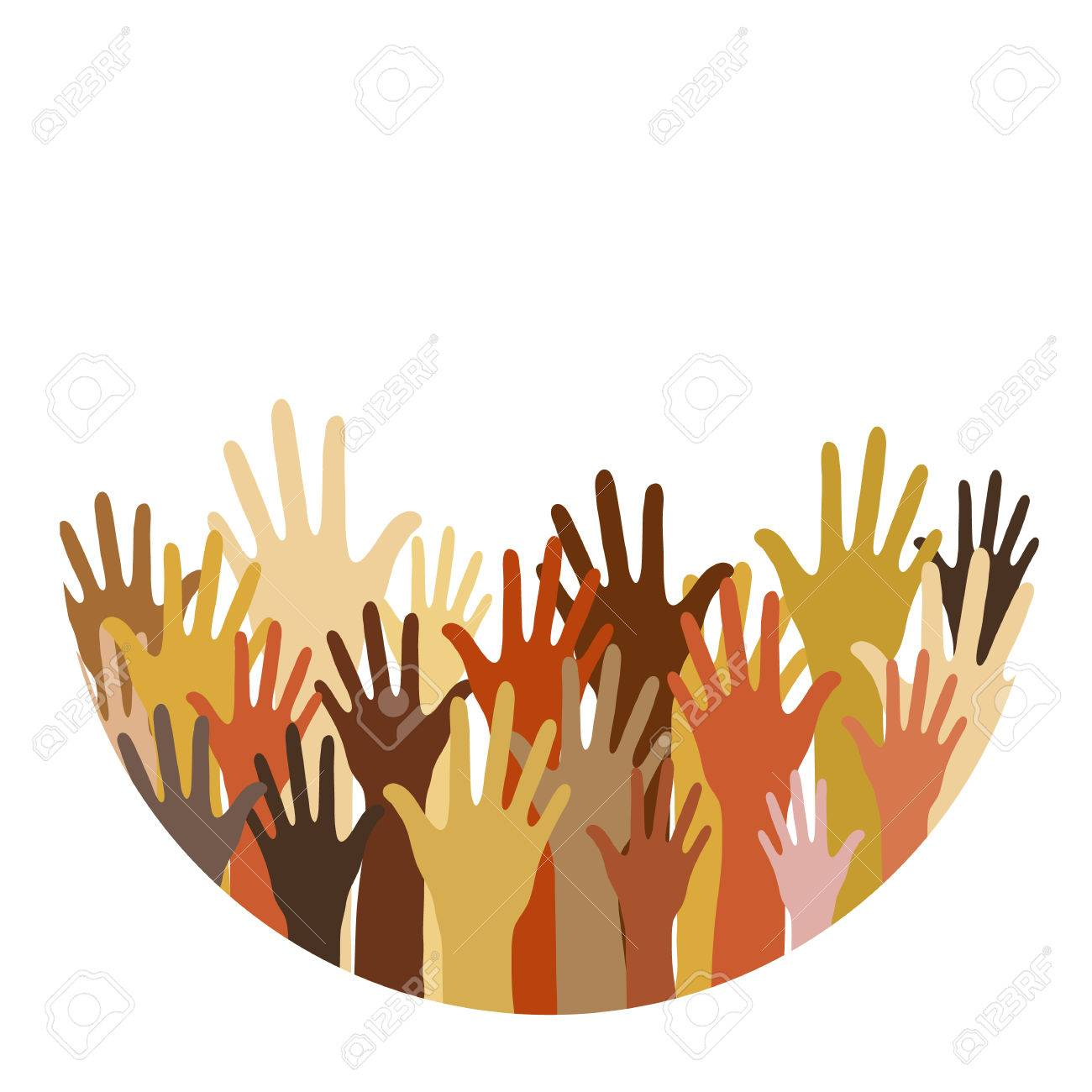 different race hands cultural and ethnic diversity concept rh 123rf com