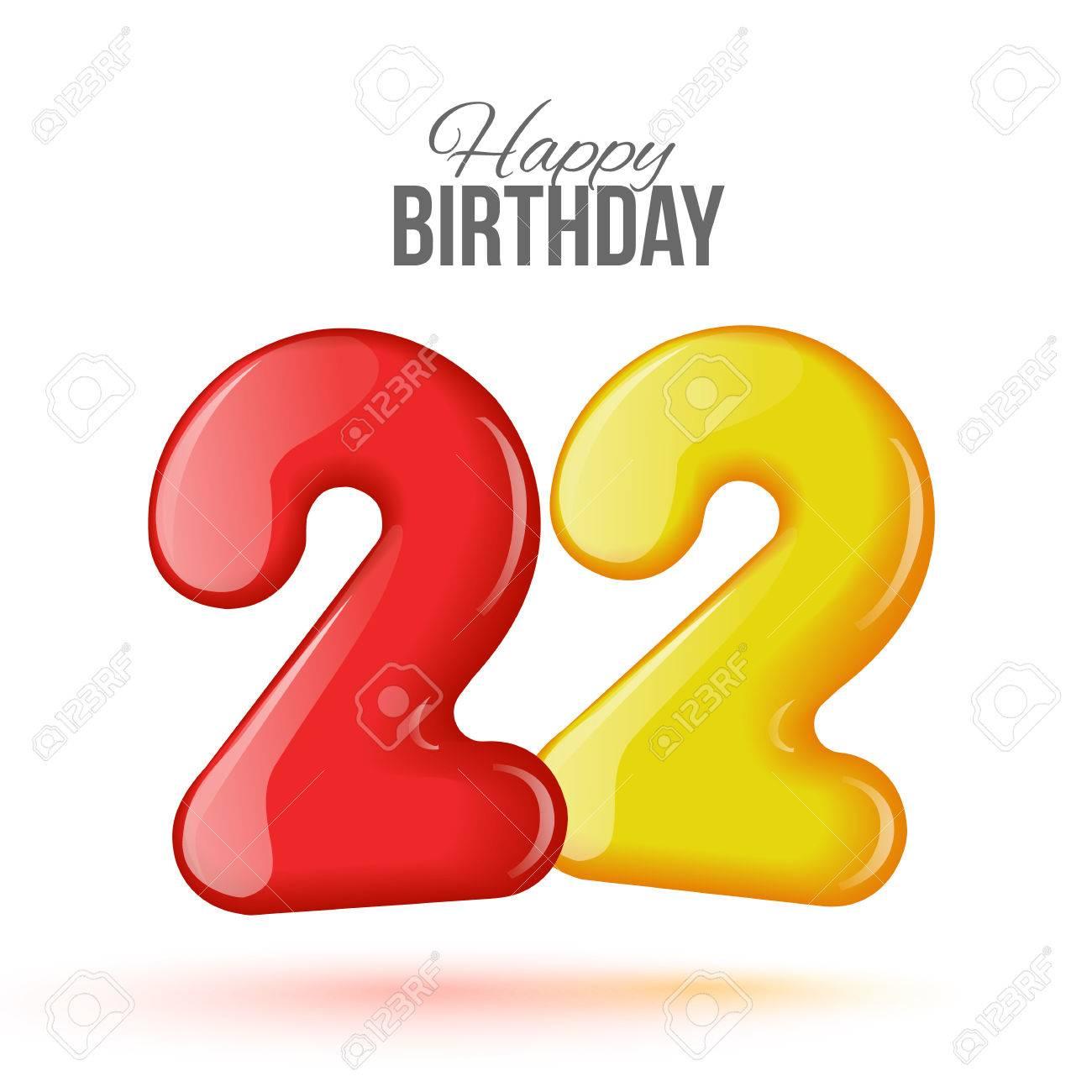 Поздравления к 22-летию