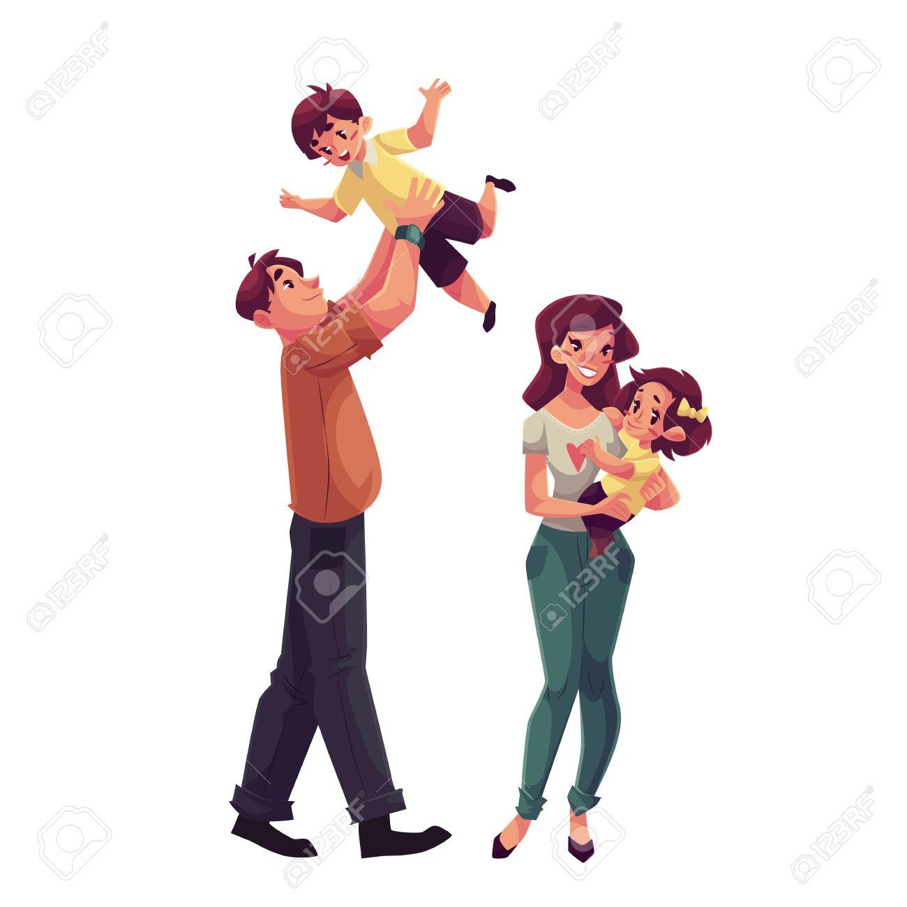 Dessins animés de sexe de papa