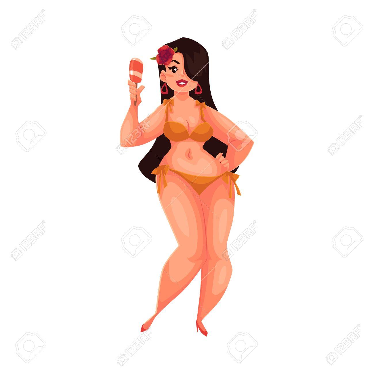 Chubby curvy black girls