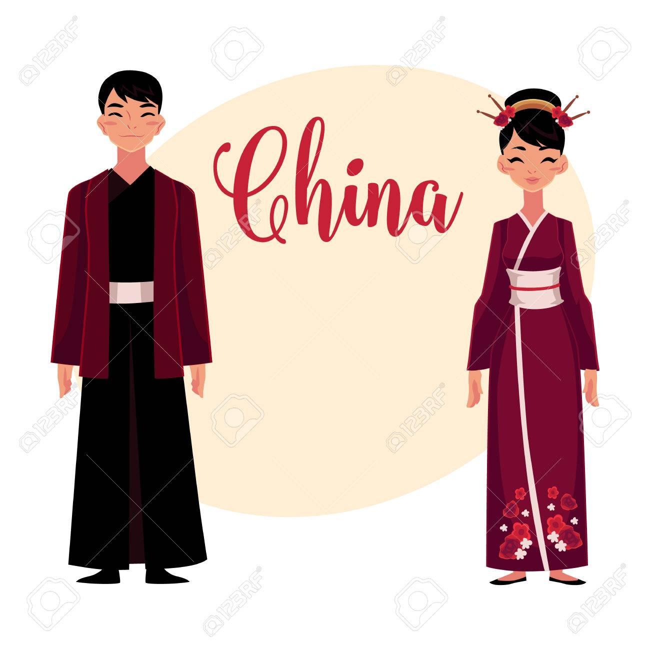 Hombres asiaticos vestidos de mujer