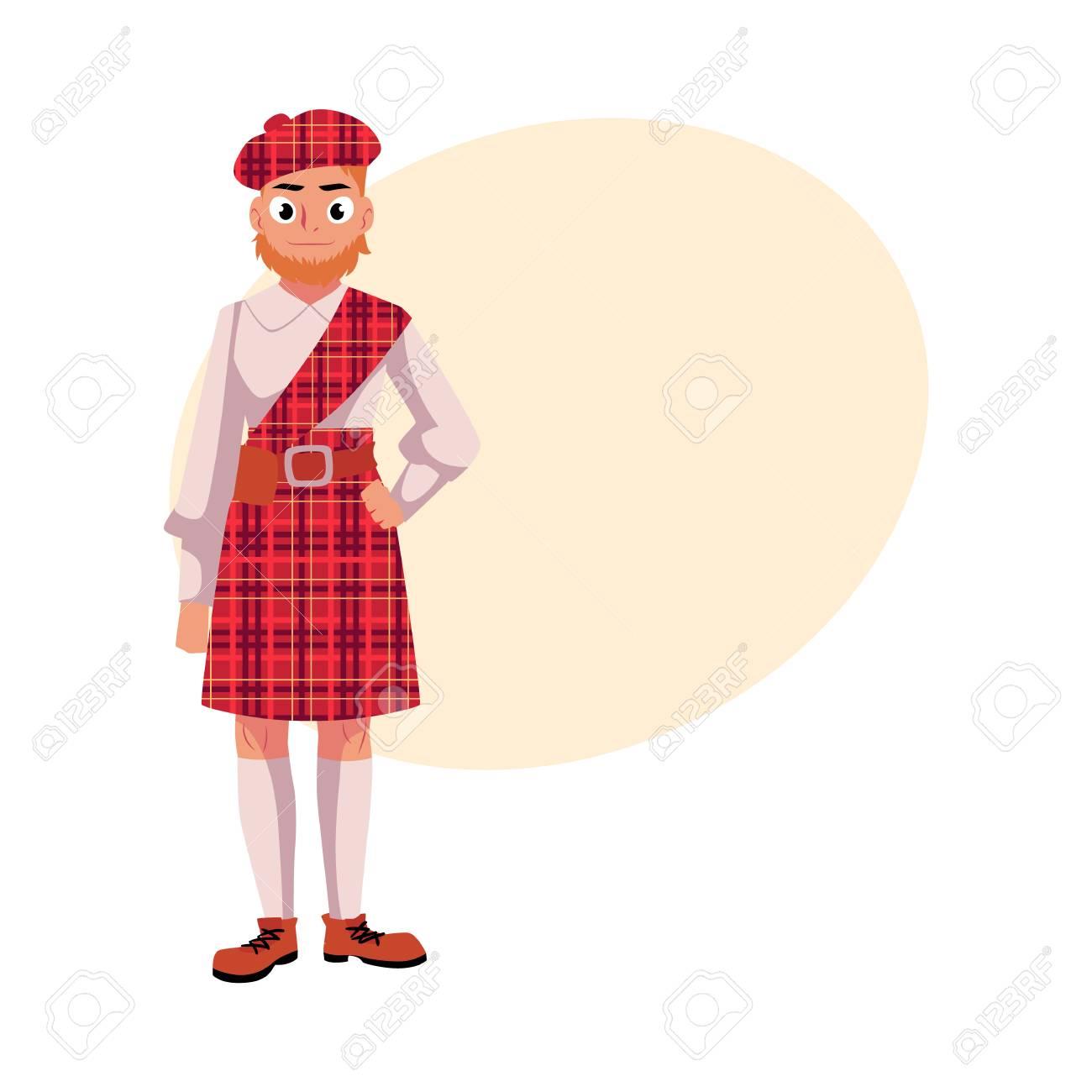 Schottische männer charakter