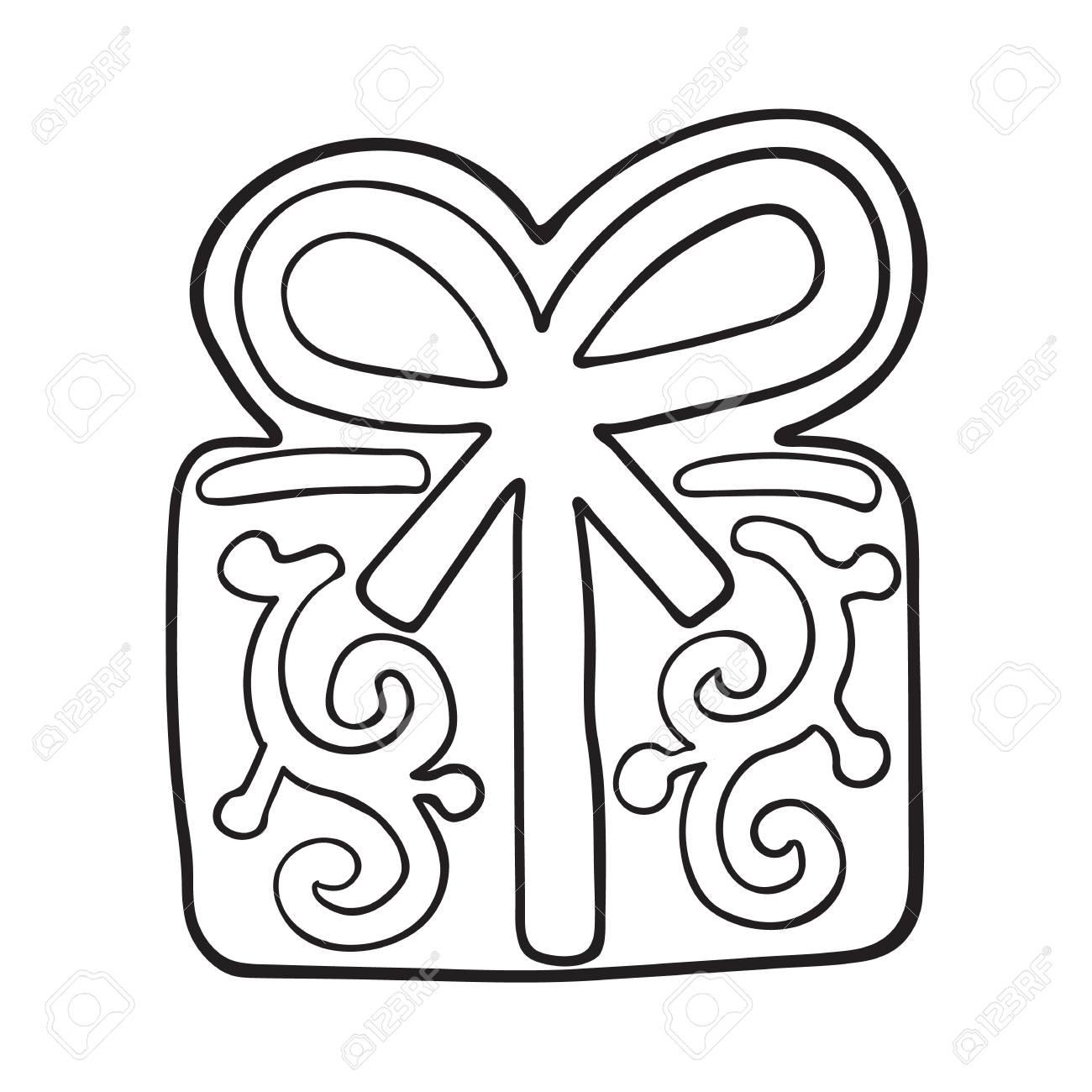 Glazed Present, Gift Box Shaped Homemade Christmas Gingerbread ...