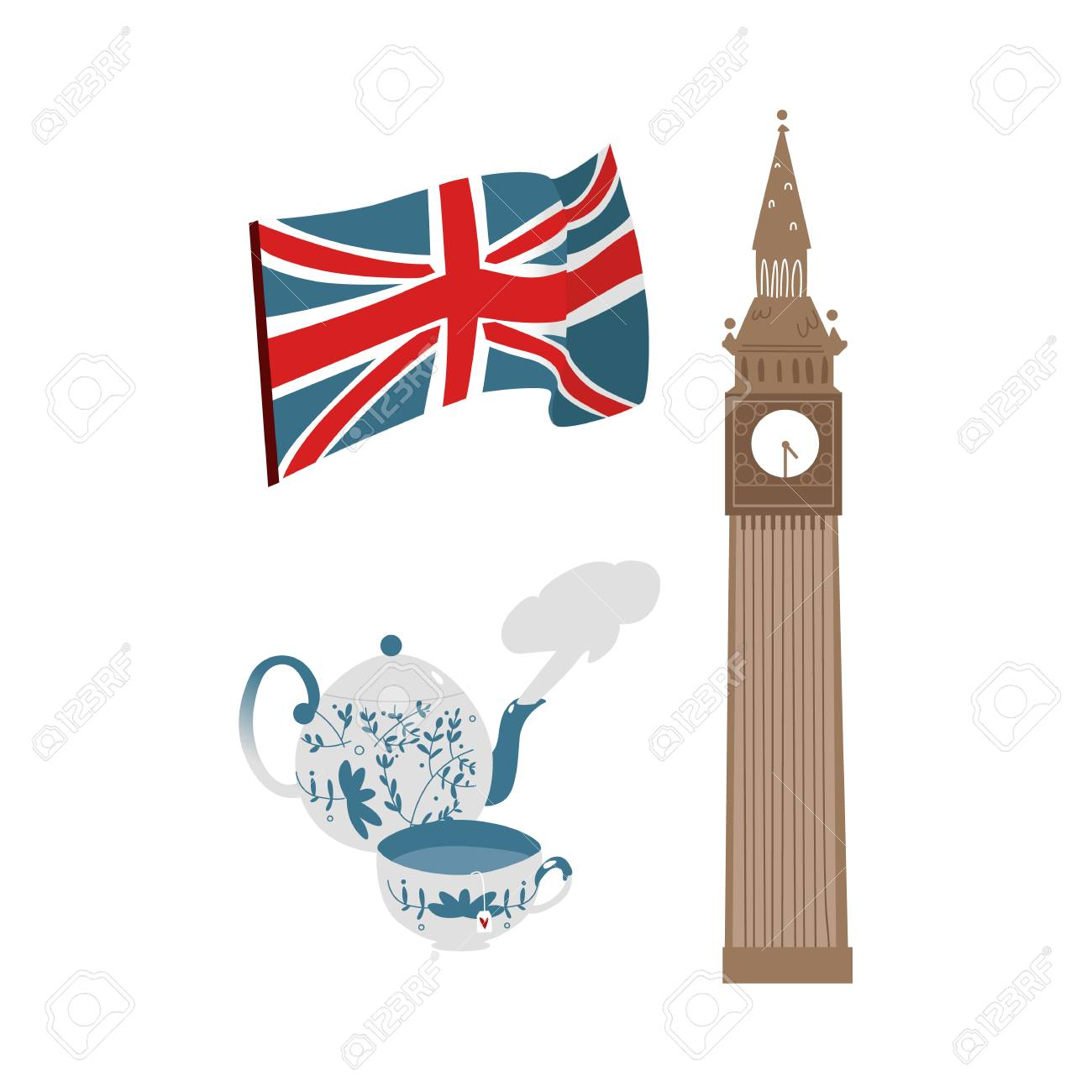 337f44167a70b Vector - vector flat United kingdom