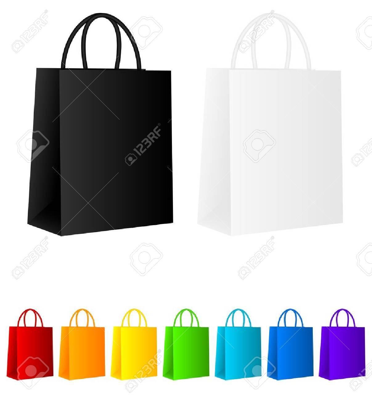Shopping bags Stock Vector - 9639816