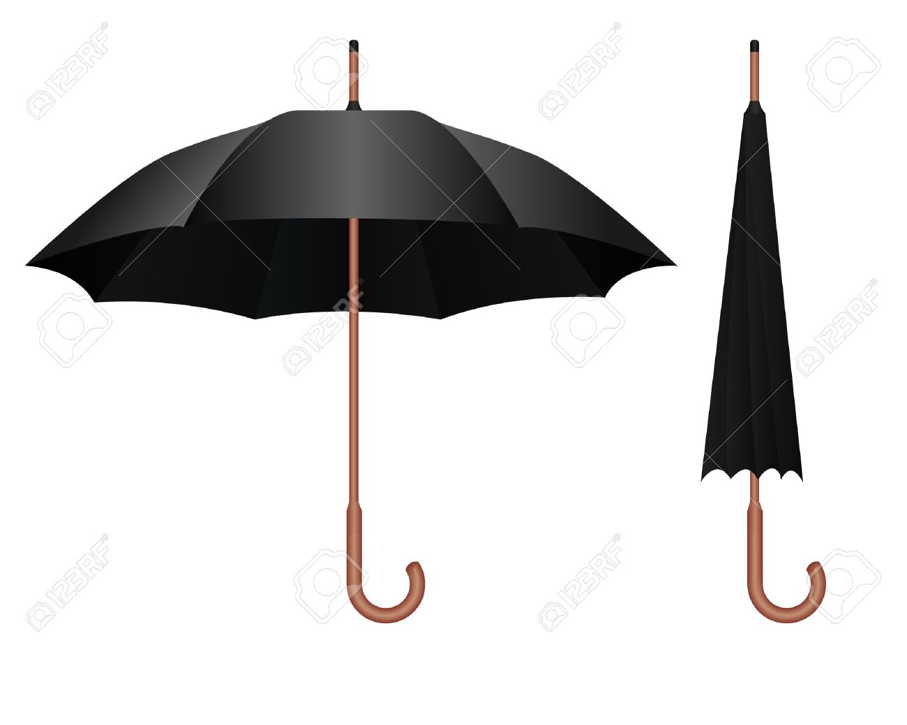 4af55e74f Black Parasol Royalty Free Cliparts, Vectors, And Stock Illustration ...