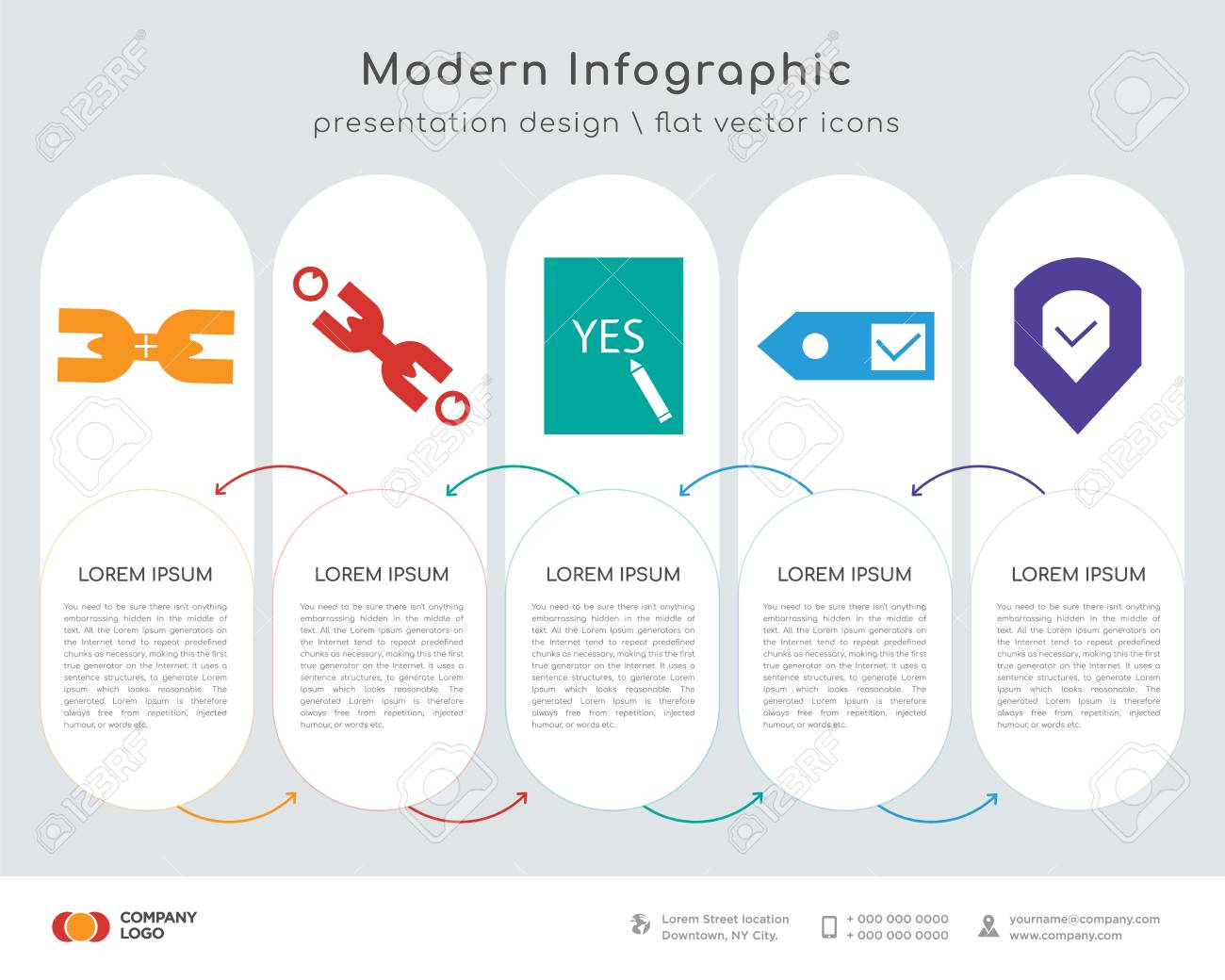 Infographics design vector and chain, chain, yes, , done icons can on layout poster, layout animation, layout chart, layout icon, layout plan, layout map, layout tools, layout paper, layout sketch,