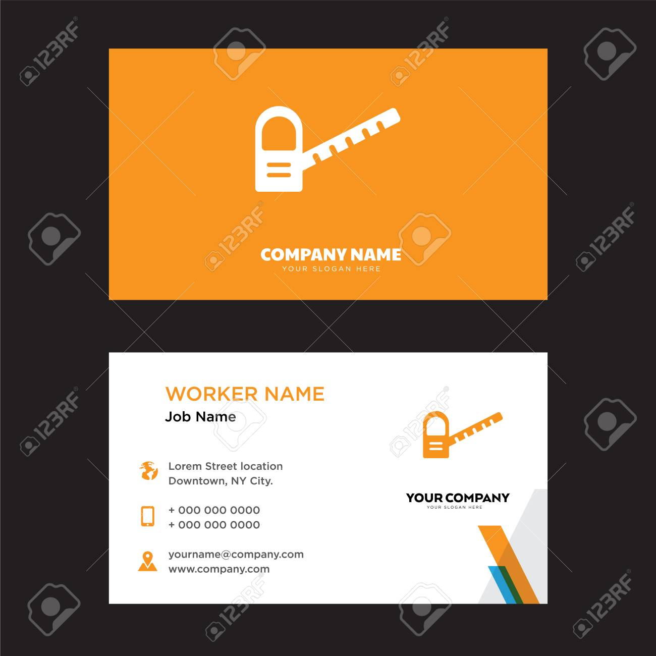 Toll road business card design template visiting for your company toll road business card design template visiting for your company modern horizontal identity card wajeb Gallery