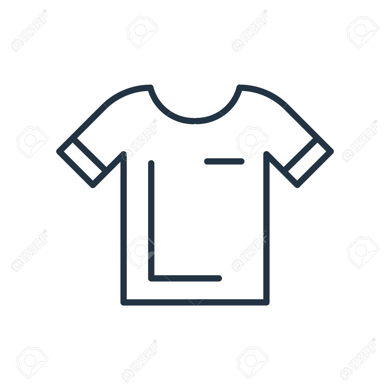 Shirt icon vector isolated on white background, Shirt transparent sign - 111849763