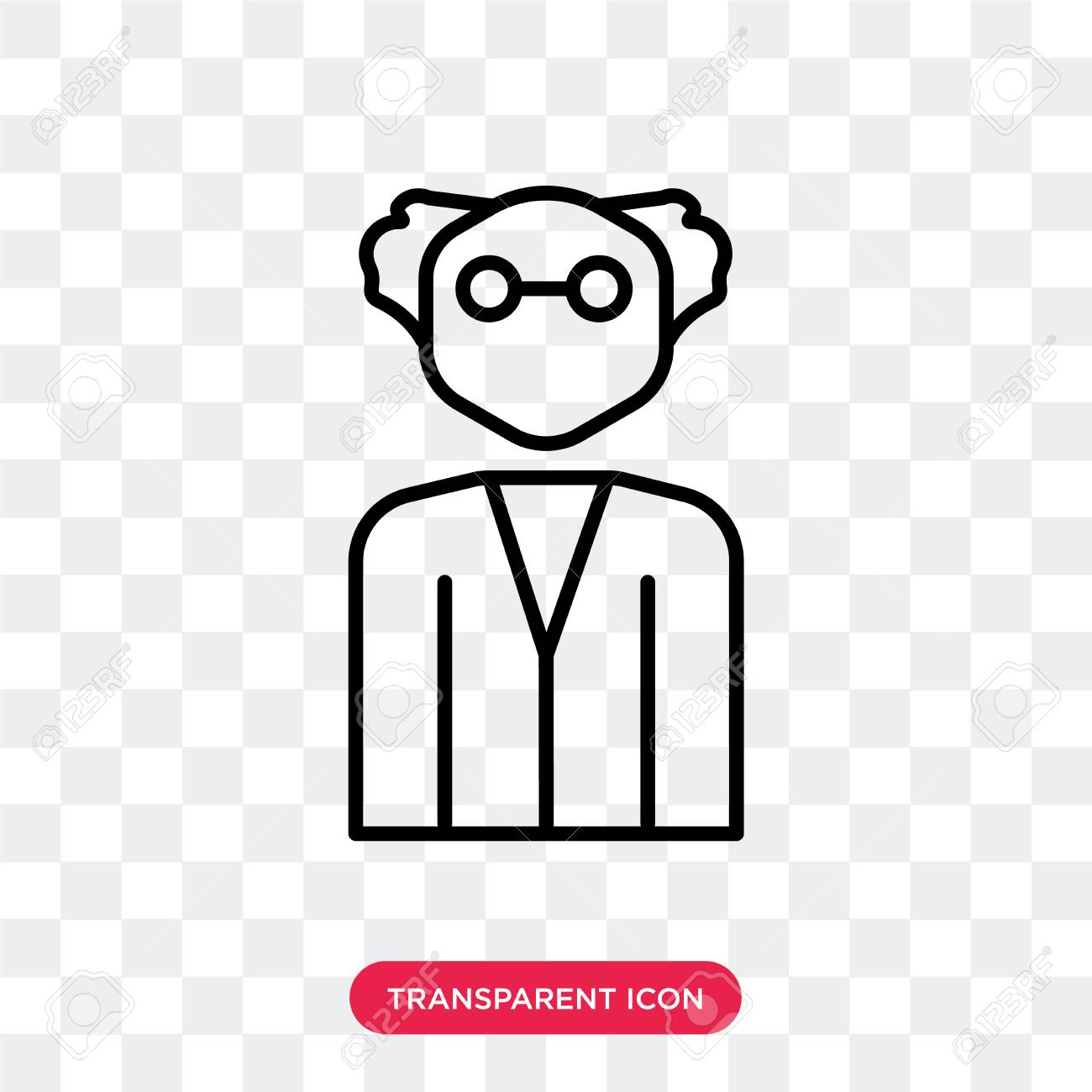 scientist vector icon isolated on transparent background scientist royalty free cliparts vectors and stock illustration image 107652076 scientist vector icon isolated on transparent background scientist