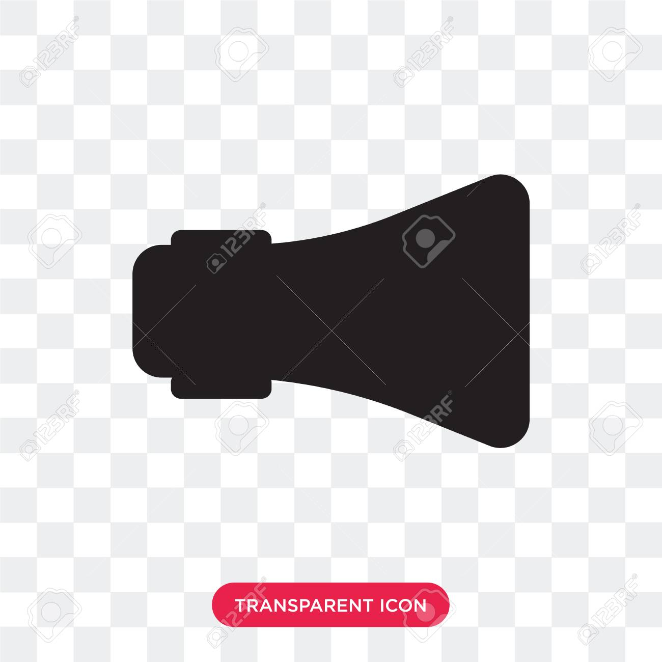 loudspeaker vector icon isolated on transparent background loudspeaker royalty free cliparts vectors and stock illustration image 107765594 123rf com