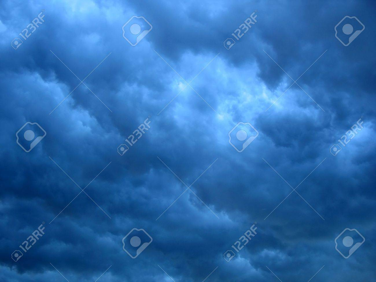 dark storm clouds texture with large-area contrast Stock Photo - 1849089
