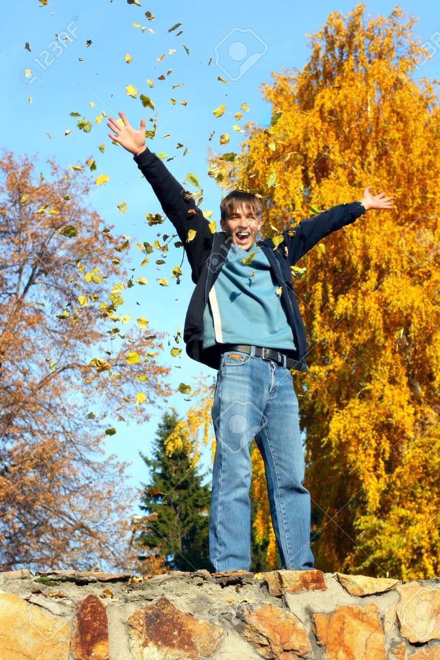 happy teenager Stock Photo - 3719395