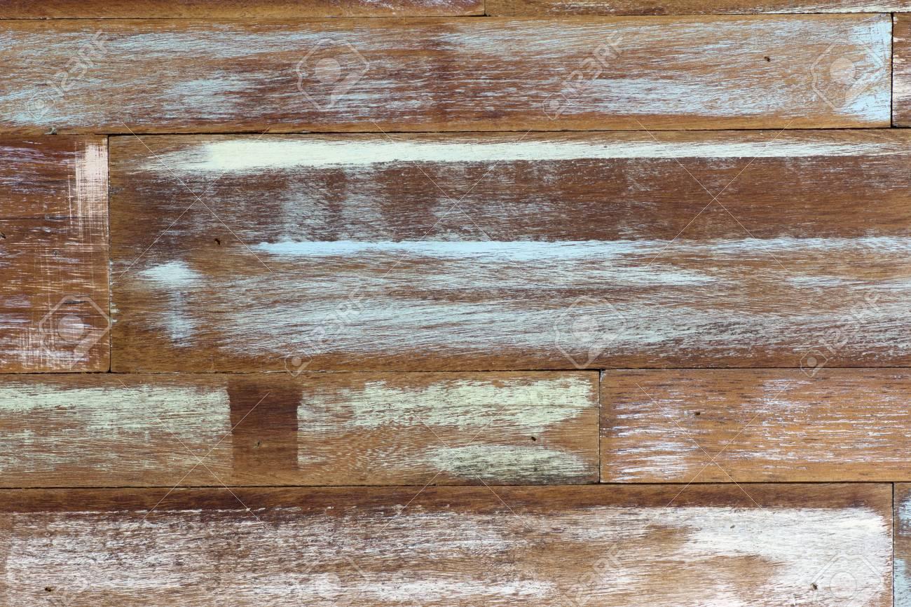 Detail Der Abstrakten Kunst Farbe Holz Wand Weiß Blau Grün