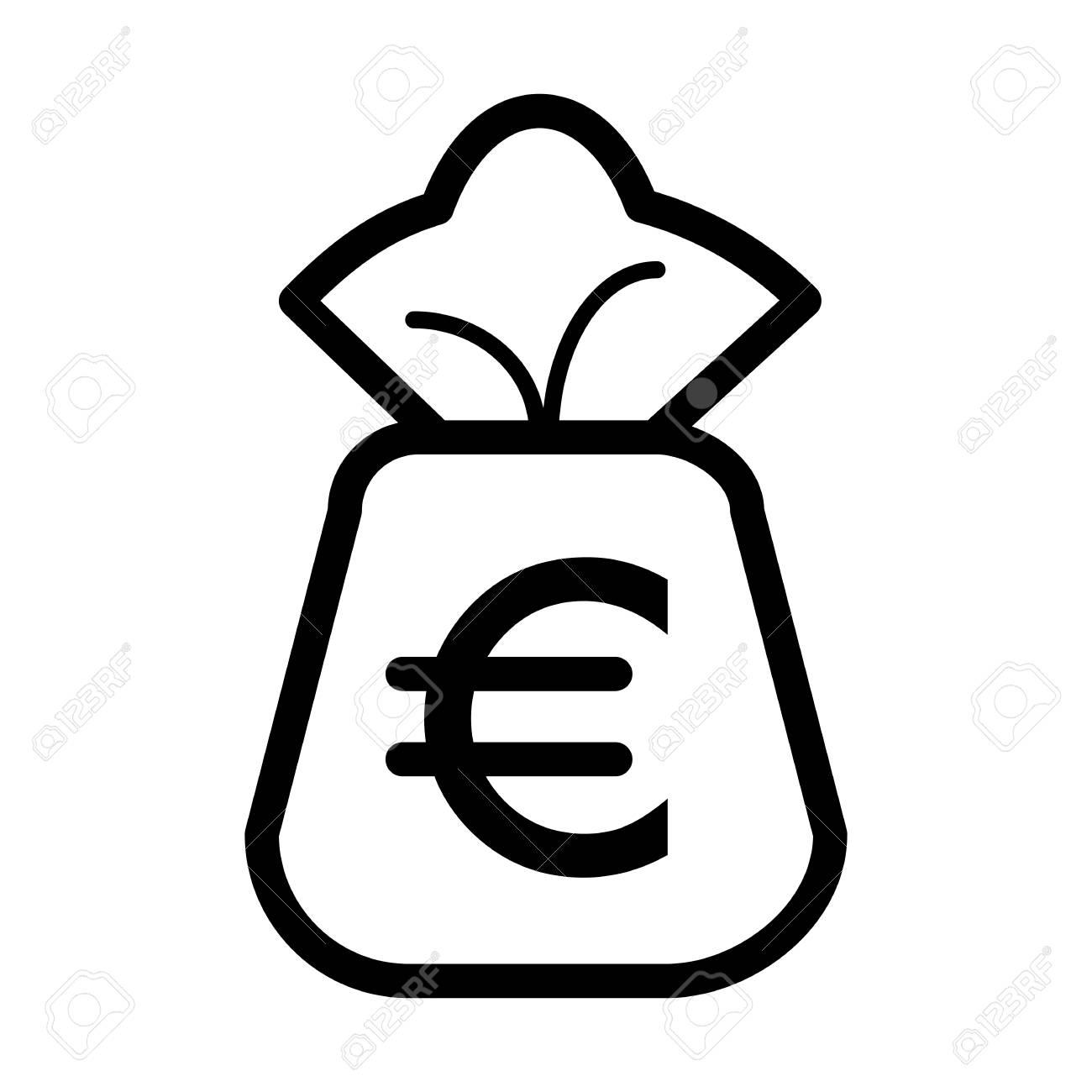 money bag vector icon royalty free cliparts vectors and stock rh 123rf com money bag emoji vector money bag vector icon