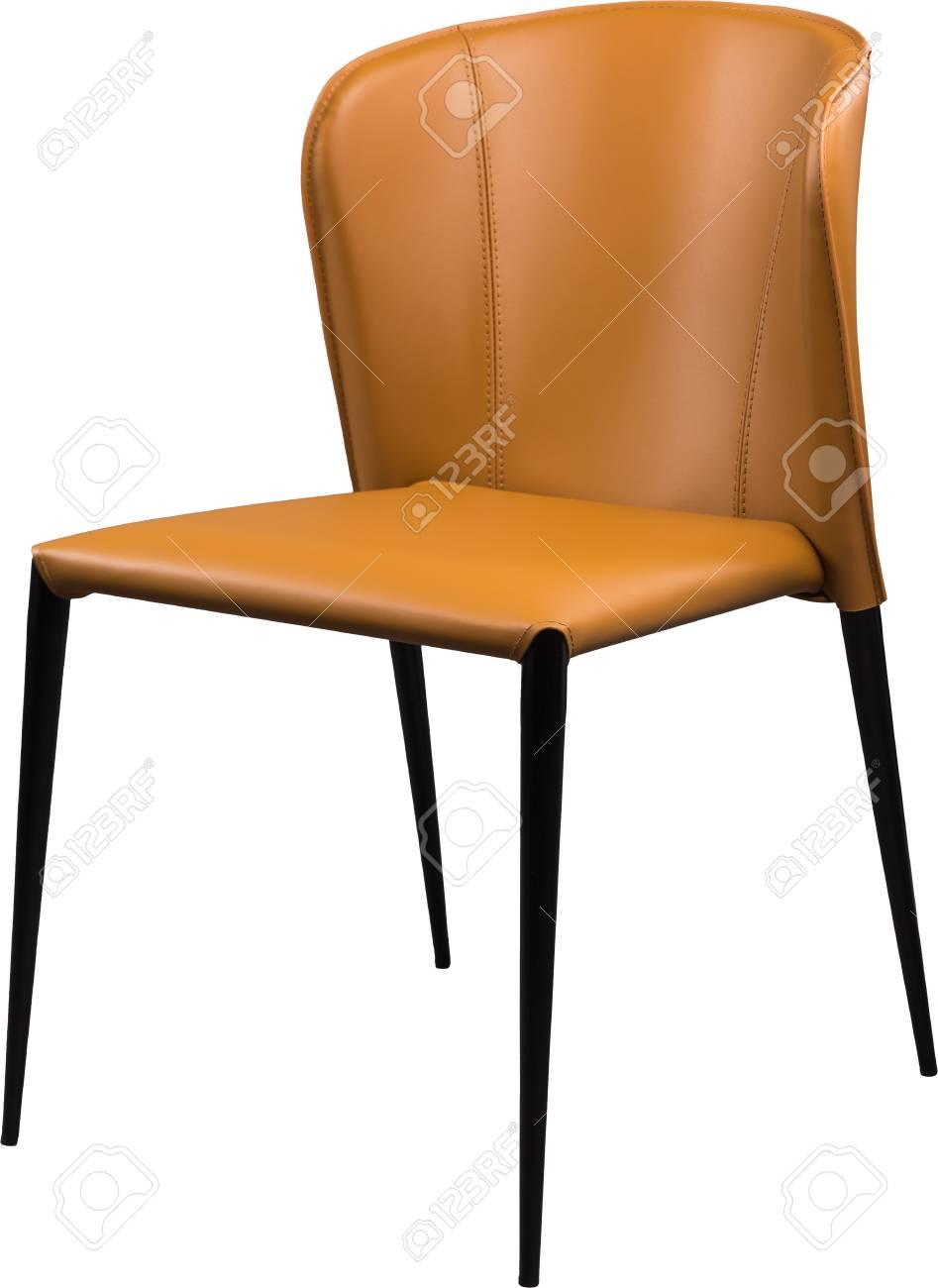 Chaise En Cuir De Bureau Couleur Ginger Design Moderne Pour
