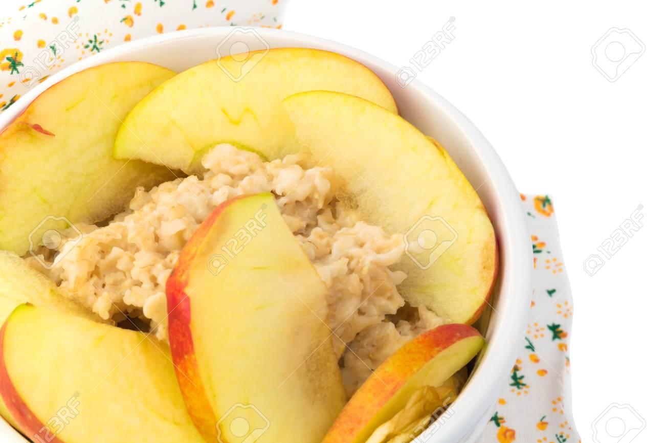 Dieta de la avena y manzana