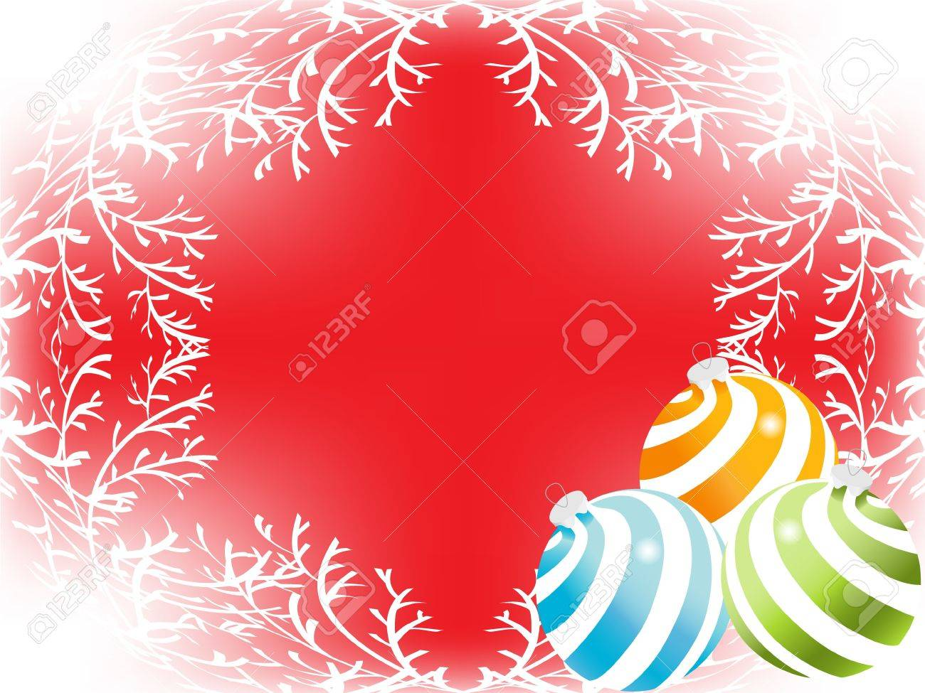 christmas sphere backgrounds. vector Stock Photo - 3809177