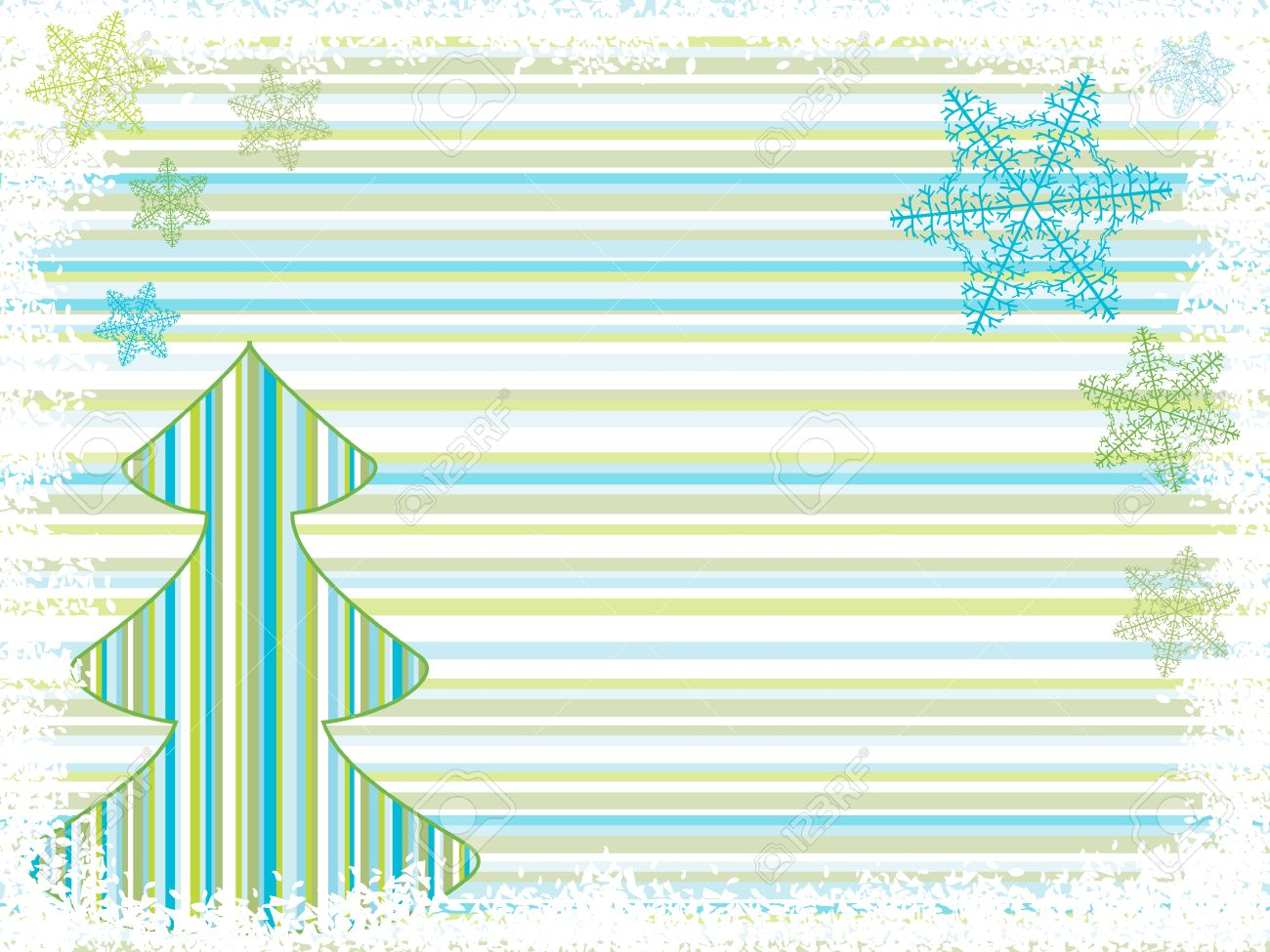 christmas tree backgrounds. holiday vector Stock Vector - 5860793