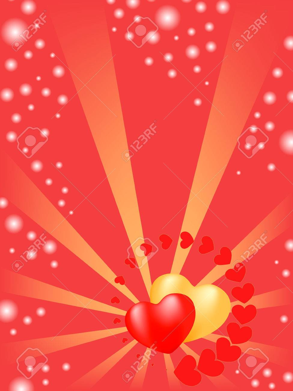 heart background.  holiday valentine Stock Vector - 6229889