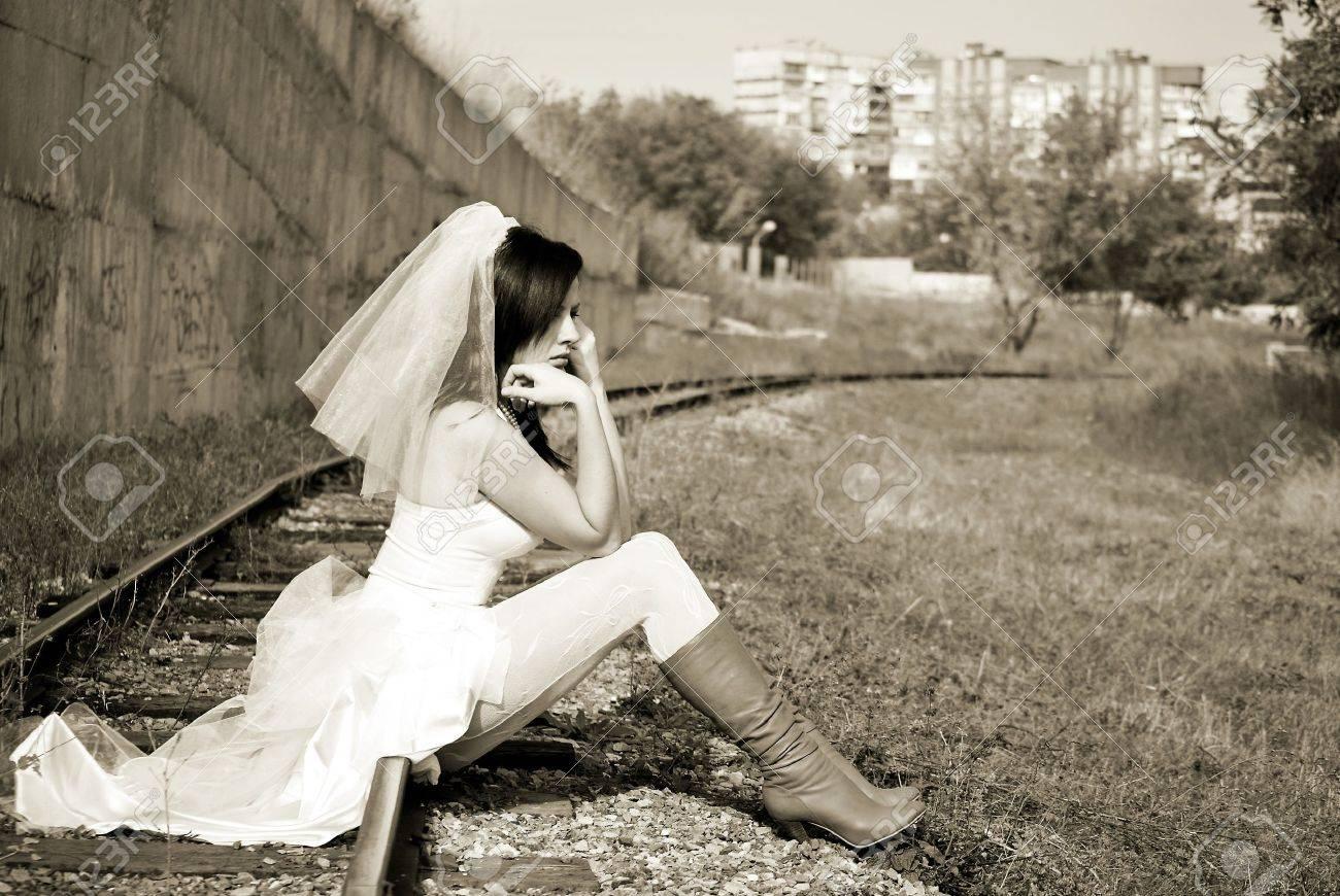 Фото невеста убегает с другим 25 фотография