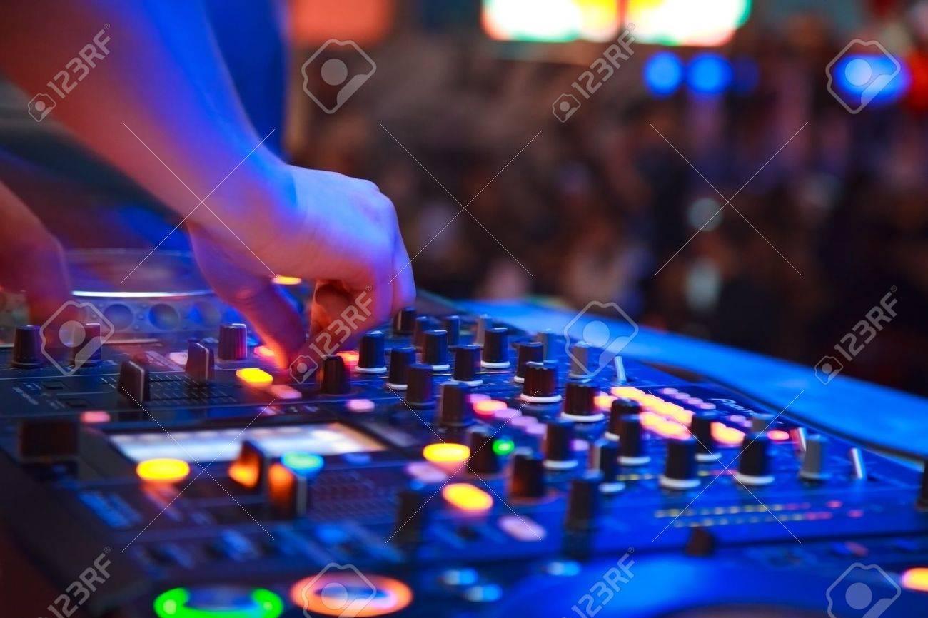 nightclub parties. DJ Stock Photo - 19478092