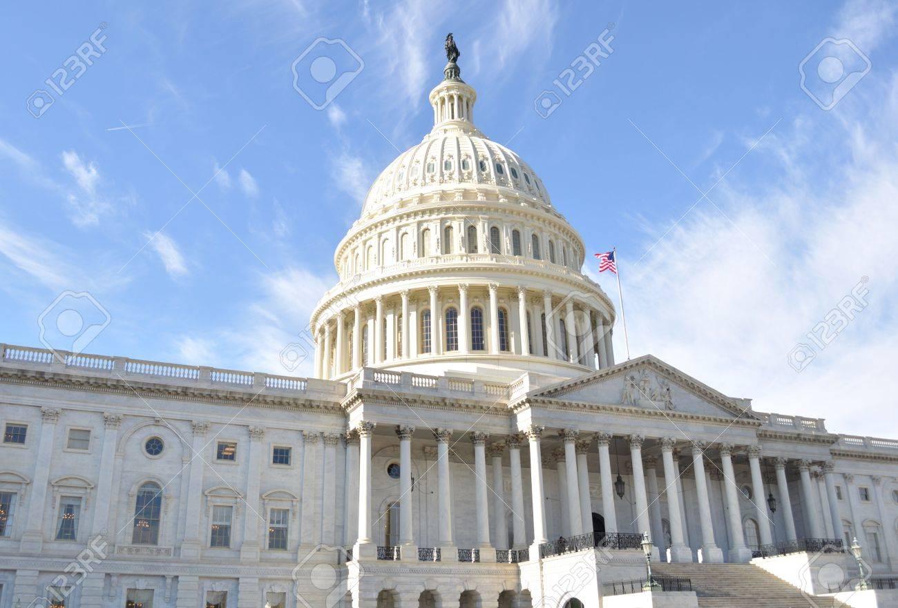 Capitol Hill Building ,Washington DC. Stock Photo - 8645154