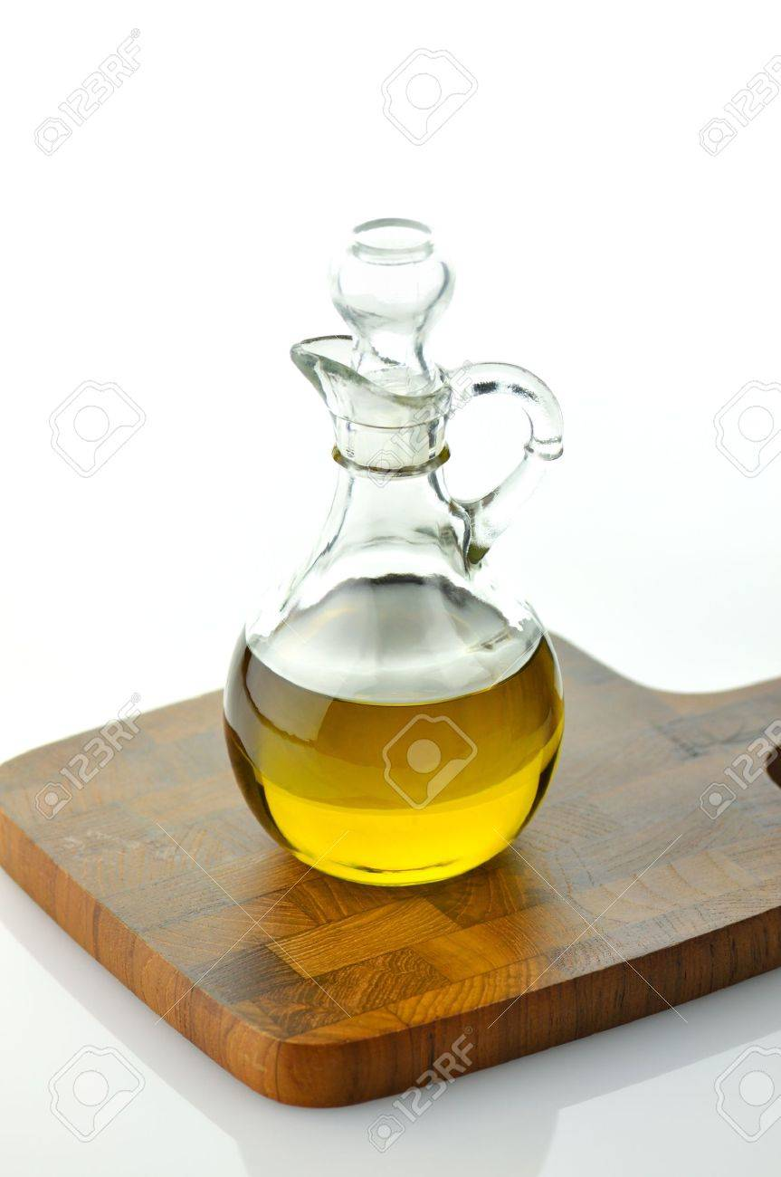 A bottle of olive oil Stock Photo - 9040053