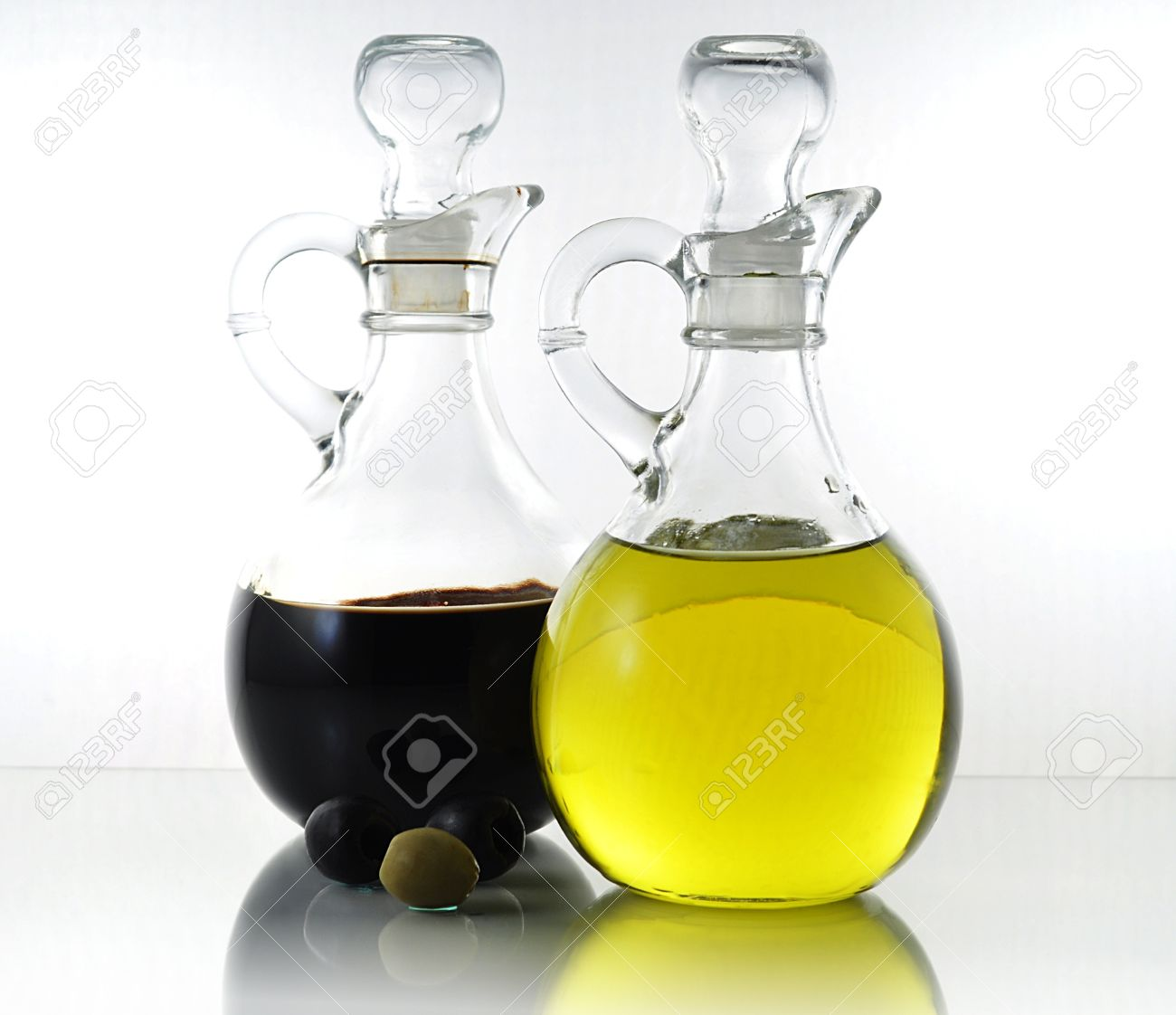 oil and vinegar bottles stock photo picture and royalty free  - oil and vinegar bottles stock photo
