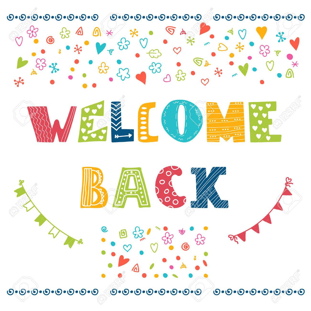 Image result for copyright free 'welcome back' images
