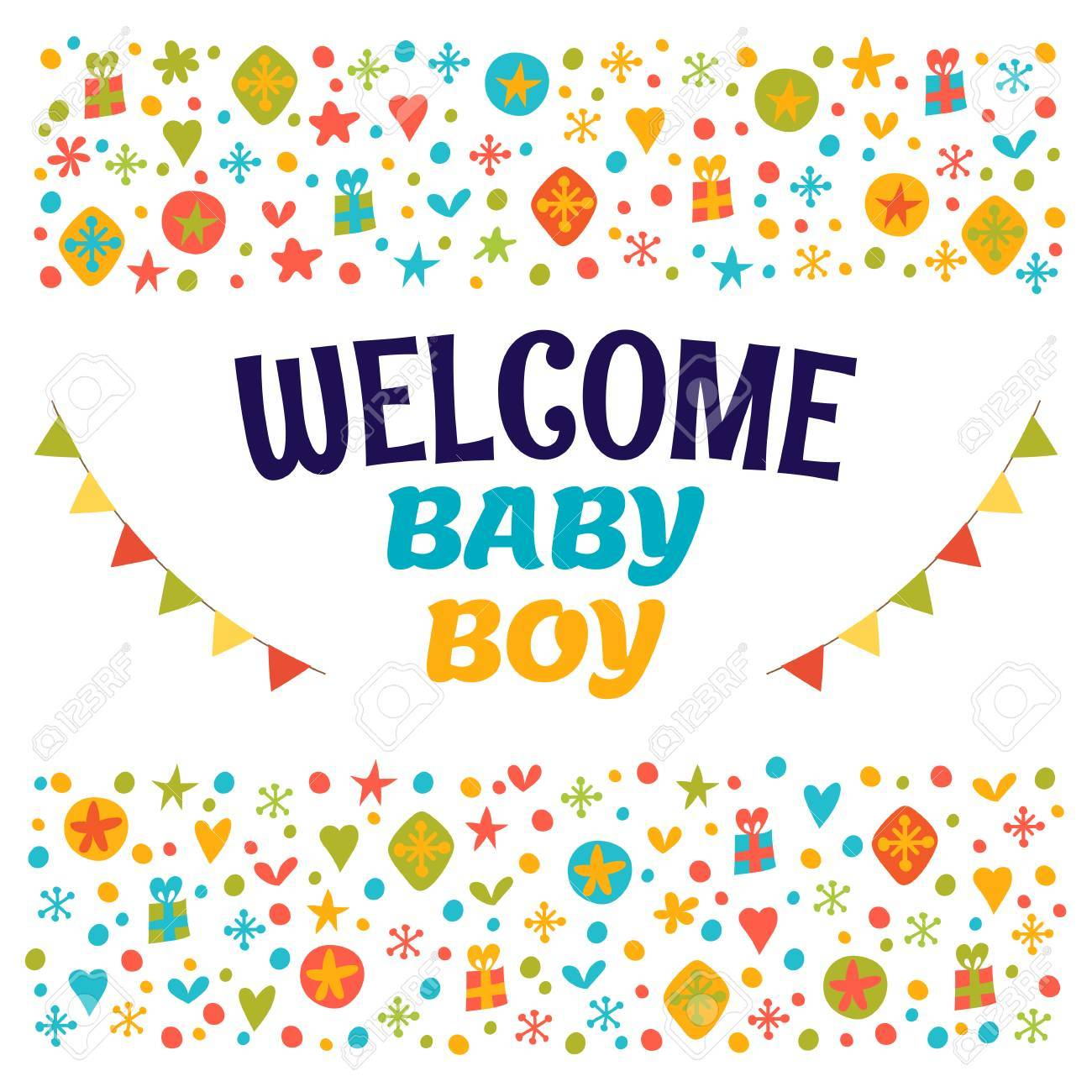 welcome baby boy baby boy shower card baby boy arrival postcard