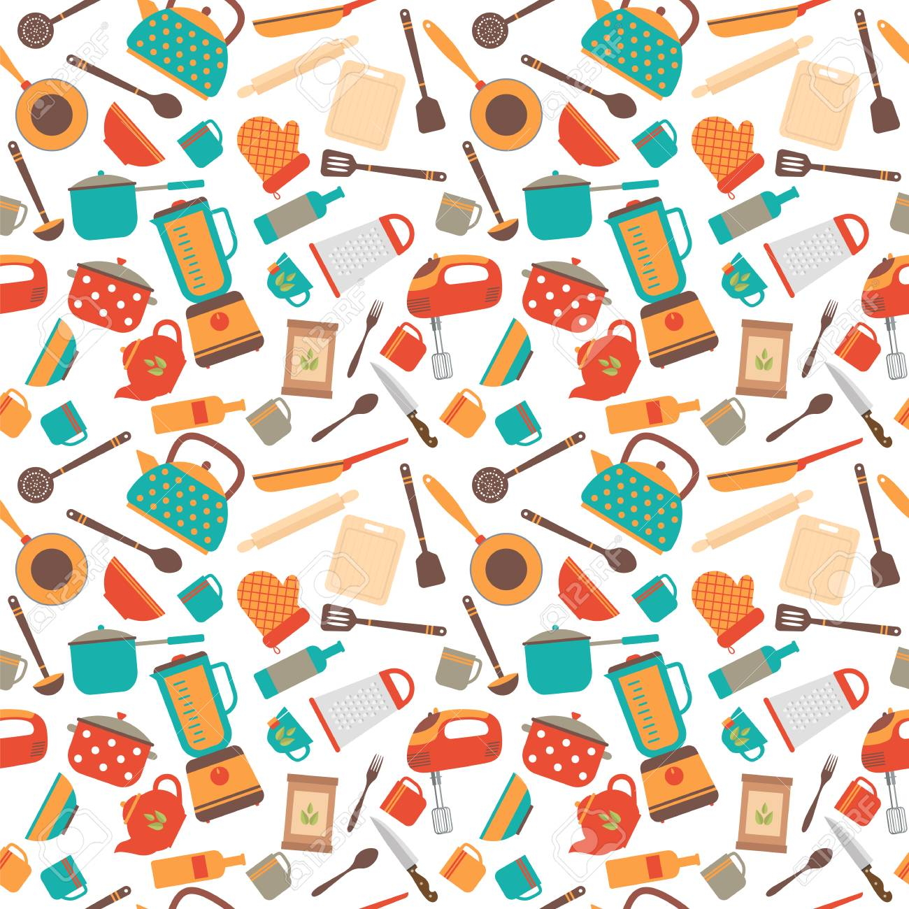 kitchen utensils background clipart cooking utensils background cute seamless pattern with kitchen tools vector illustration stock utensils background seamless pattern with kitchen