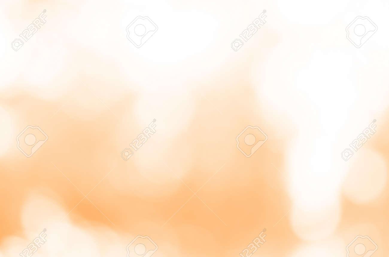 Abstract orange light bokeh background - 142761967