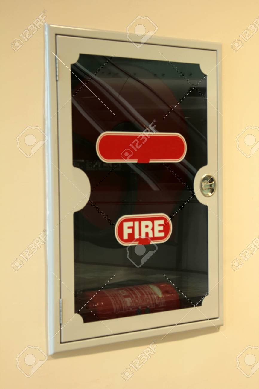 fire extinguisher Stock Photo - 25214059